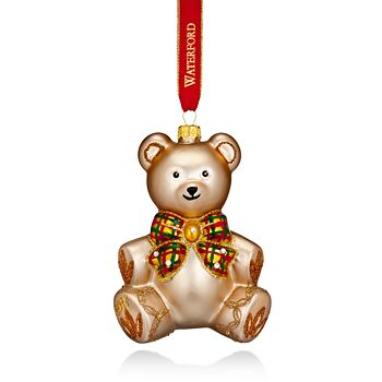 Waterford - Nostalgic Baby's First Teddy Bear Ornament 2017