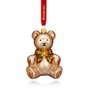 Waterford Nostalgic Baby's First Teddy Bear Ornament 2017