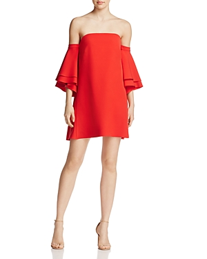 Milly Cady Mila Off-the-Shoulder Dress