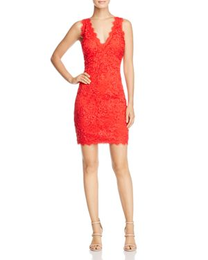 Aqua V-Neck Lace Sheath Dress - 100% Exclusive 2610281