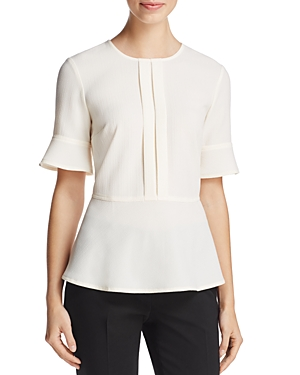 Dkny Fluted Bell Sleeve Top