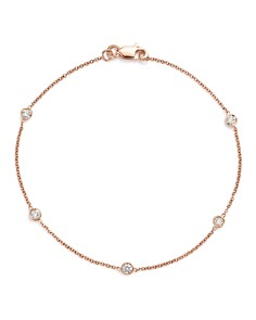 Bloomingdale's Diamond Station Bracelet in 14K Gold, 0.25 ct. t.w. - 100% Exclusive_0