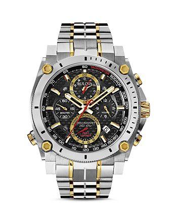 Bulova - Two-Tone Precisionist Watch, 46.5mm