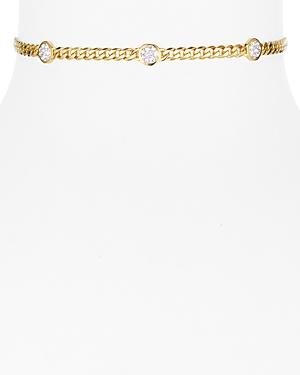 Nadri Curb Chain Choker Necklace, 10
