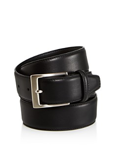 Canali Basic Smooth Leather Belt - Bloomingdale's_0