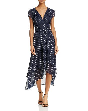 Betsey Johnson - Polka Dot Wrap Dress