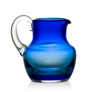 Baccarat Mosiaque Blue Pitcher