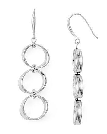 Robert Lee Morris Soho - Linear Circle Drop Earrings