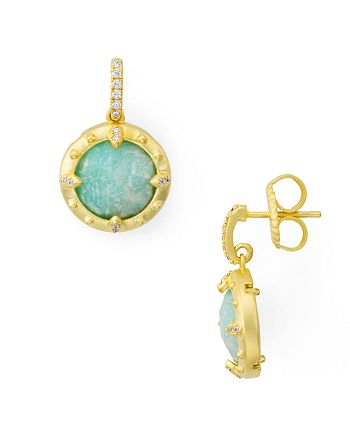 Freida Rothman - Amazonian Allure Drop Earrings