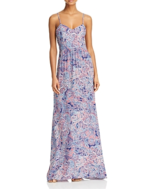 Parker Virginia Silk Paisley Print Maxi Dress - 100% Exclusive