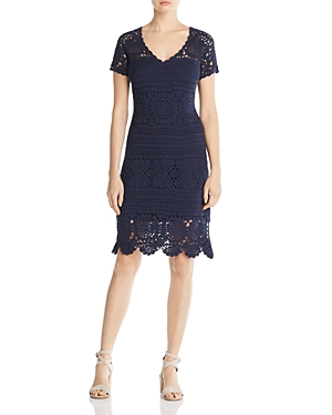 Elie Tahari Esme Crochet Dress