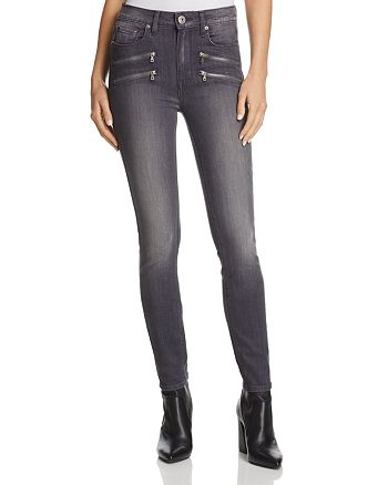 PAIGE - Edgemont Ultra Skinny Jeans in Summit Grey