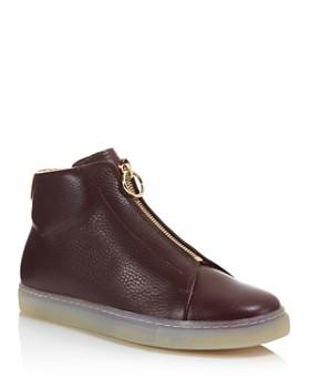 Pairs in Paris - Women's Rochechouart High Top Zip Sneakers - 100% Exclusive