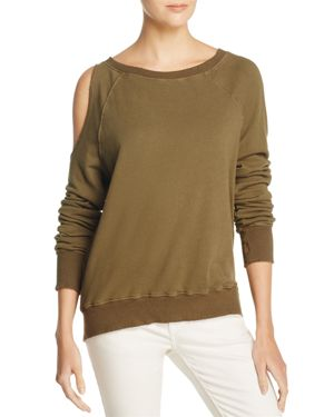 Pam & Gela One Cold Shoulder Sweatshirt 100% Exclusive