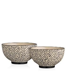 Bloomingville - Ceramic Julie Bowl, Set of 2