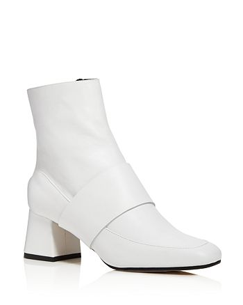 Aska - Women's Goldie Block Heel Booties