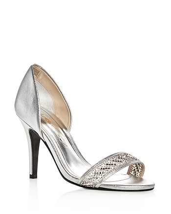 Caparros - Women's Illusion Metallic Embellished d'Orsay Pumps