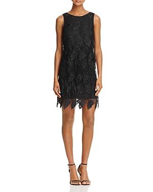 Adrianna Papell Sleeveless Layered Lace Dress