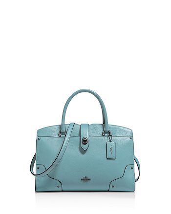 706dd2af9 COACH Mercer Satchel 30 in Grain Leather | Bloomingdale's
