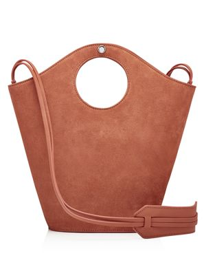 Elizabeth and James Market Small Suede and Leather Tote 2599388