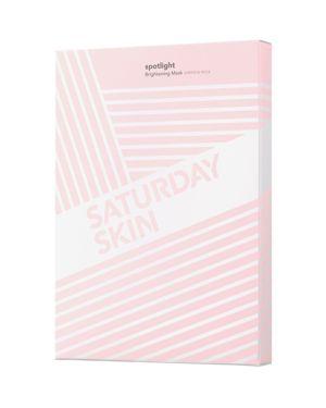 SATURDAY SKIN Spotlight Brightening Sheet Masks, Set Of 5