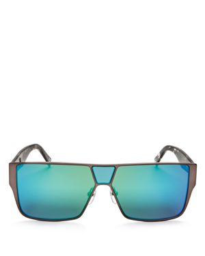 Marc Jacobs Mirrored Shield Sunglasses, 59mm