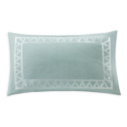 "Echo - Mykonos Decorative Pillow, 12"" x 20"""