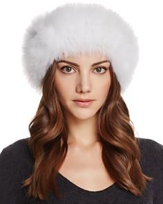 Maximilian Furs - Fox Fur Knit Headband