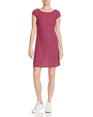 Three Dots Chevron Stripe Dress