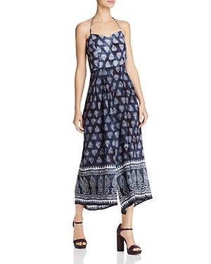 Sadie & Sage Batik Print Culotte Jumpsuit