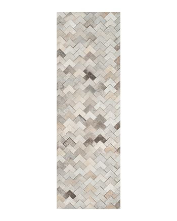 "SAFAVIEH - Studio Leather Area Rug, 2'3"" x 7'"