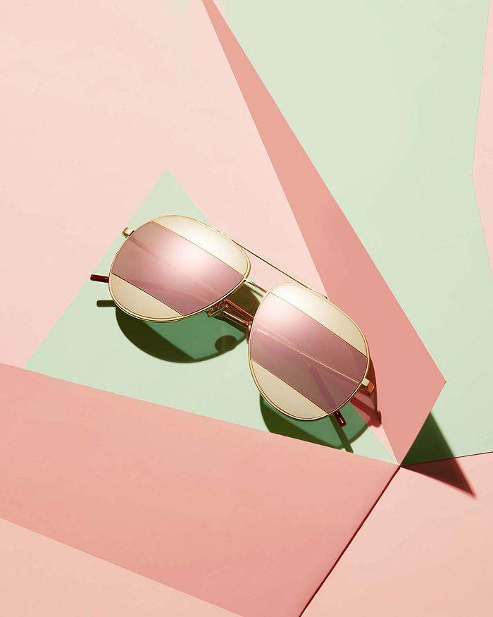 cbd11f0223 Dior - Women s Split Mirrored Aviator Sunglasses