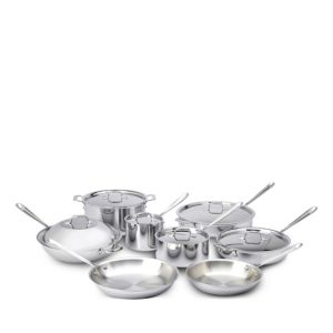 All-Clad Stainless Steel 14-Piece Cookware Set - 100% Exclusive 2635422