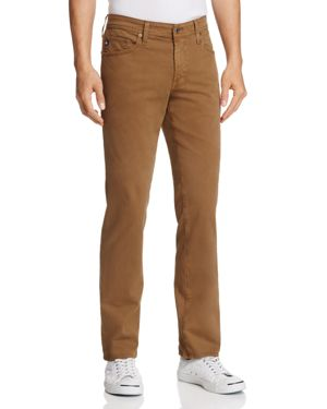 Ag Jeans Graduate New Tapered Slim Straight Fit Pants in Rustic Brass 2635457