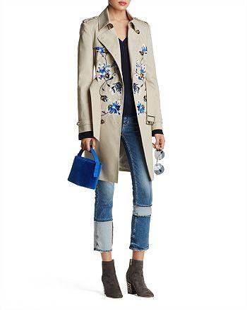 KAREN MILLEN - Trench Coat & Marled Sweater - 100% Exclusives & More
