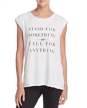 Pam & Gela Frankie Stand For Something Tee