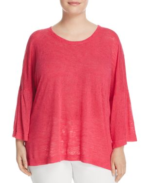 Nally & Millie Plus Bell Sleeve Top