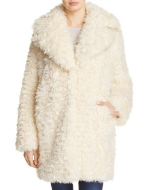 Kendall and Kylie Faux Fur Coat