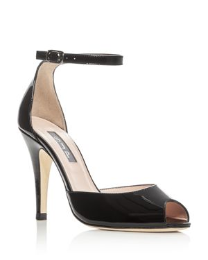 Sjp by Sarah Jessica Parker Marquee Patent Leather High Heel Sandals - 100% Exclusive