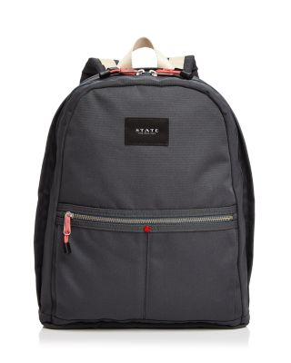Kent Williamsburg Backpack in Dark Gray/Silver