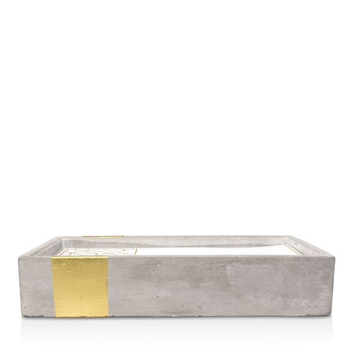 Paddywax - Urban Concrete Rectangle Gold Amber & Smoke Candle