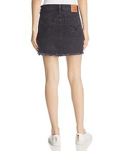 Levi's - Deconstructed Denim Mini Skirt in Gimme Danger