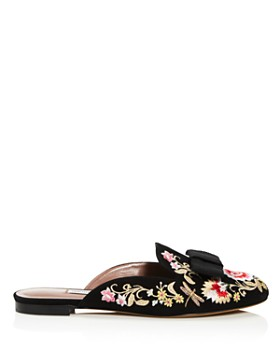 Tabitha Simmons - Women's Masha Embroidered Mules - 100% Exclusive