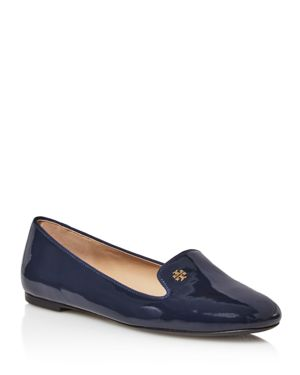 Tory Burch Samantha Patent Leather Loafers