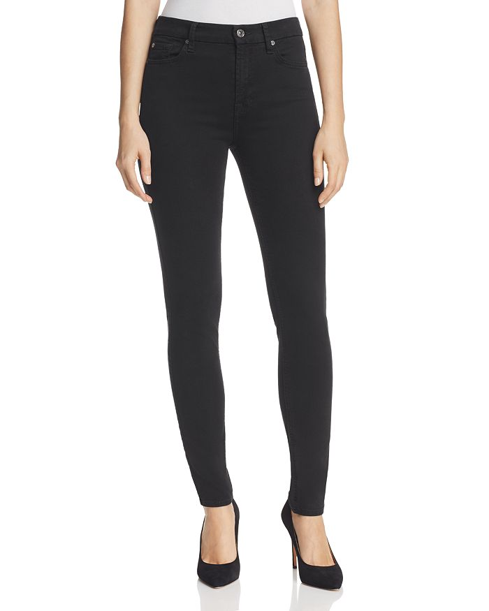 7 For All Mankind - b(air) High Rise Skinny Jeans