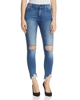 DL1961 - Farrow Ankle Instaslim High-Rise Jeans in Laramie