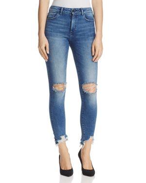 DL1961 Farrow Ankle Instaslim High-Rise Jeans in Laramie