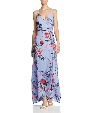 Yumi Kim Floral Wrap Maxi Dress