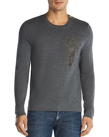 The Kooples - Merino Embroidered Sweater