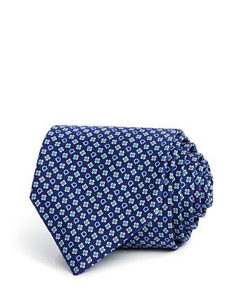 Salvatore Ferragamo - Floral Gancini Classic Tie